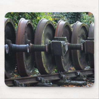 Heritage Train Wheels Mousepad