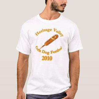Heritage Valley Corn Dog Festival 2010 T-Shirt