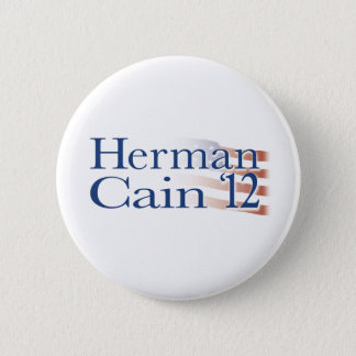 Herman Cain 2012 2 Inch Round Button