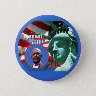 Herman Cain 2012 2 Inch Round Button