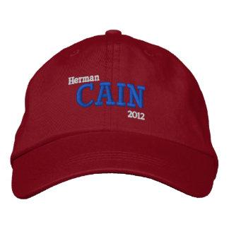 Herman Cain 2012 Embroidered Baseball Cap