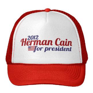 Herman Cain 2012 Mesh Hat