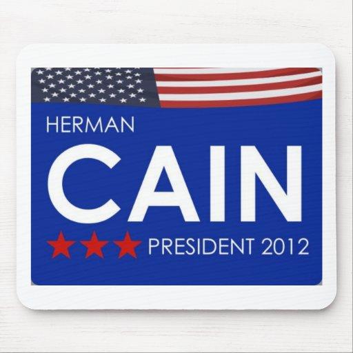 Herman Cain 2012 Mousepad
