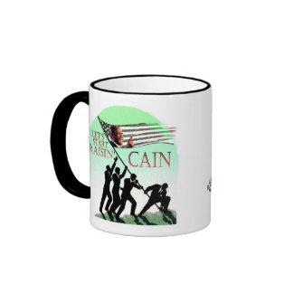 Herman Cain 2012 Ringer Mug
