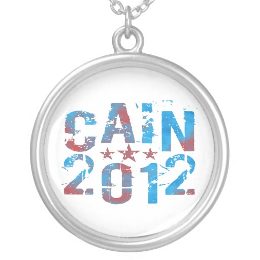 Herman Cain 2012 Necklace