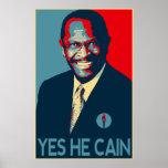 Herman Cain 2012 Poster