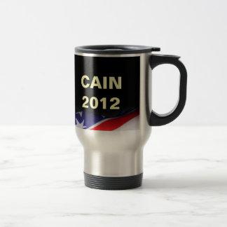 Herman CAIN 2012 Stainless Steel Travel Mug