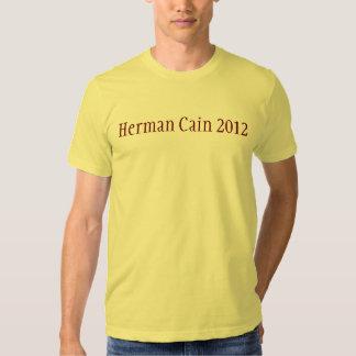 Herman Cain 2012 Tee Shirt