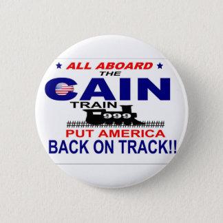 Herman Cain 2 Inch Round Button