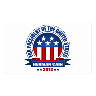 Herman Cain Business Card