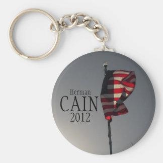Herman Cain button Basic Round Button Keychain