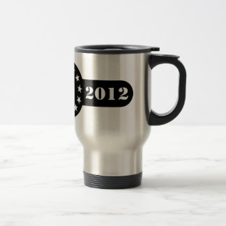 Herman Cain for President 2012 DTOM Travel Mug
