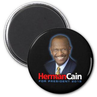 Herman Cain for President 2012 Magnet