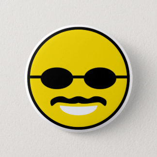 Herman Cain for President 2012 Smiley Button