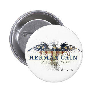 Herman Cain for President 2 Inch Round Button
