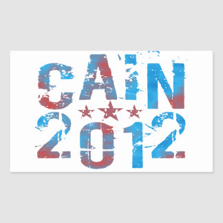 Herman Cain for President in 2012 Sticker
