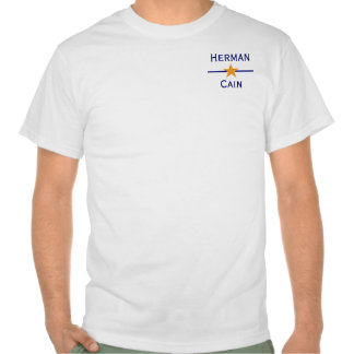 Herman Cain for President T Shirts