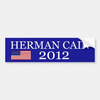 Herman Cain for Presidents Bumper Sticker