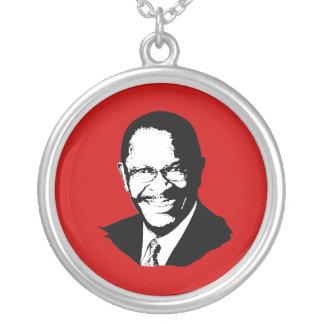 Herman Cain Round Pendant Necklace