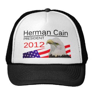 Herman Cain - President 2012 Trucker Hats