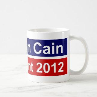 Herman Cain President 2012 Mug