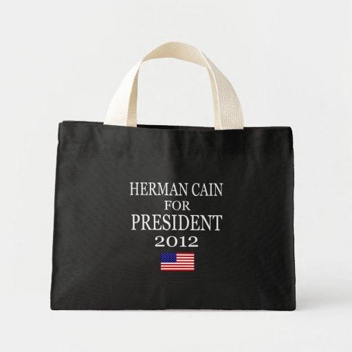 Herman Cain Tiny Tote Tote Bag