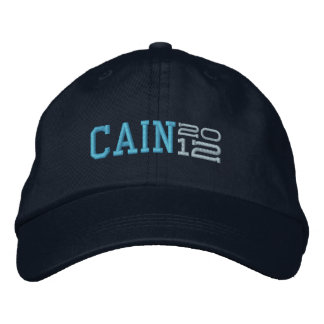 Herman Cain Twenty Twelve 2012 Embroidered Hat