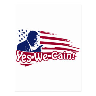Herman Cain - Yes We Cain! Postcard