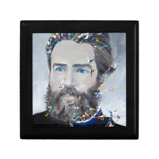 herman melville - oil portrait gift box