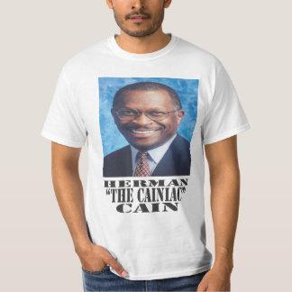 "Herman ""The Cainiac"" Cain T-Shirt"