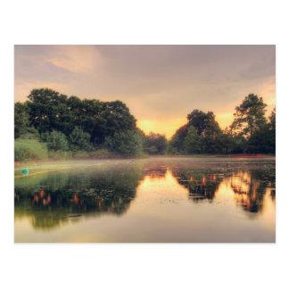 Hermann Park Mist Postcard