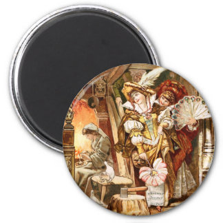 Hermann Vogel - Cinderella 2 Inch Round Magnet