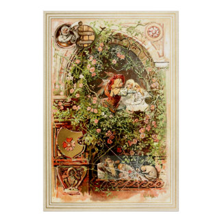 Hermann Vogel - Sleeping Beauty Poster