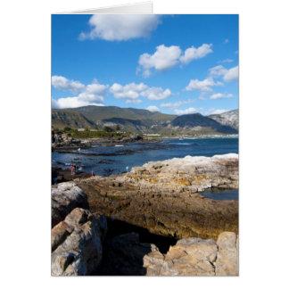 Hermanus coastline card