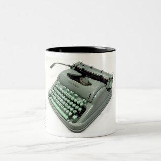Hermes 3000 typewriter - 1964 Two-Tone coffee mug
