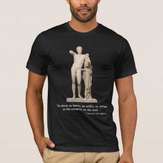 Hermes and the Infant Dionysus T-Shirt