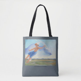 Hermes and the Zephyr Tote Bag