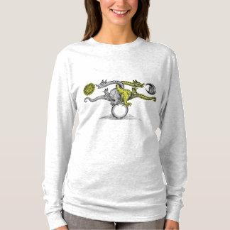 Hermes Bird Colour long sleeve shirt