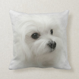 Hermes the Maltese Pillow Cushion