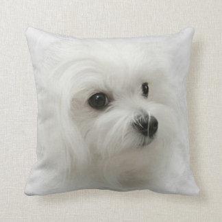 Hermes the Maltese Pillow Cushion