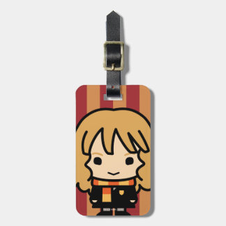 Hermione Granger Cartoon Character Art Bag Tags
