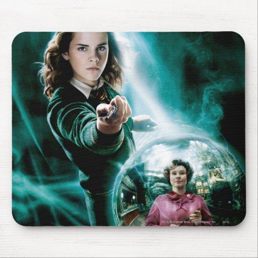 Hermione Granger et professeur Umbridge Tapis De Souris
