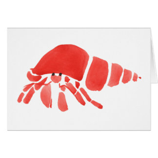Hermit Crab Apology Card