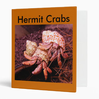 Hermit Crab Avery Binder