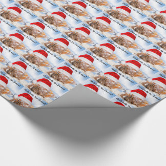 Hermit Crab Christmas Small Wrapping Paper