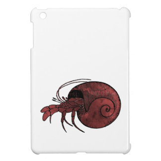Hermit Crab iPad Mini Cases