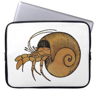 Hermit Crab Laptop Computer Sleeves