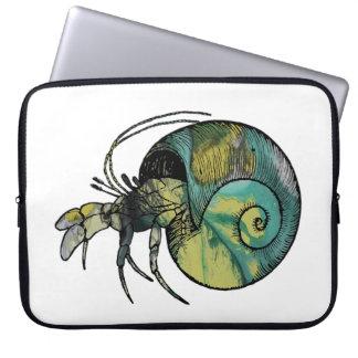 Hermit Crab Laptop Sleeve