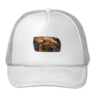 Hermit Crab on Ice Cubes Trucker Hats