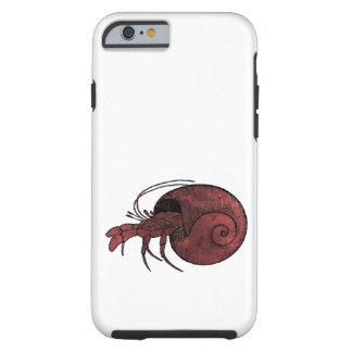 Hermit Crab Tough iPhone 6 Case